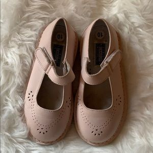 Brand new Genuine pink leather L'Amour Mary Janes